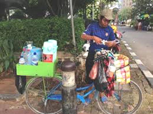 自転車のコーヒー屋さん